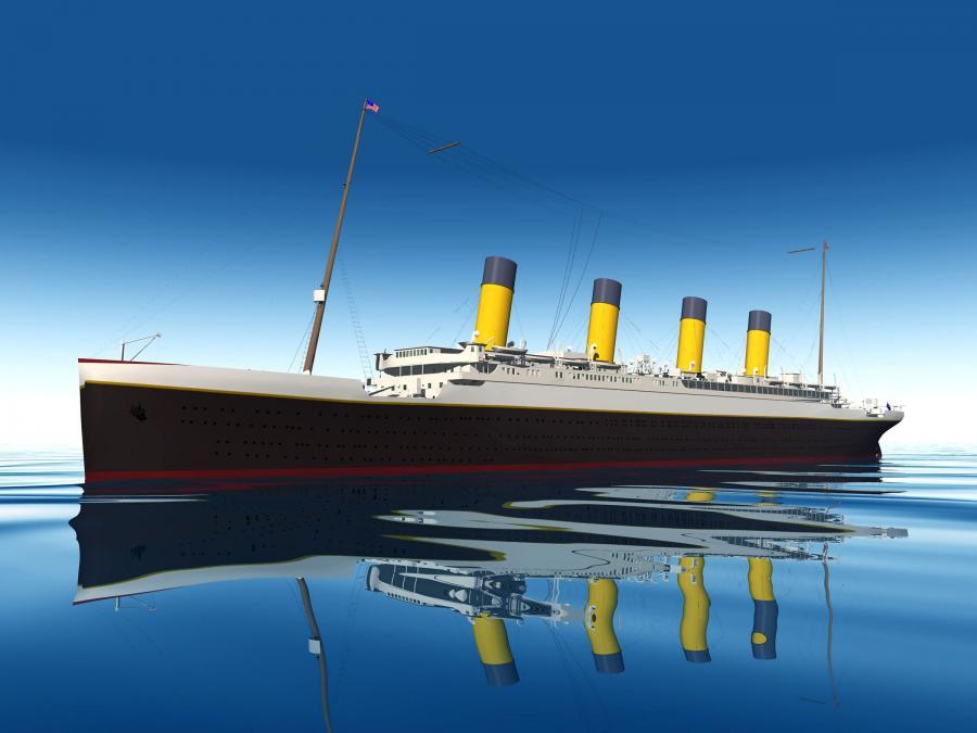 Titanic - ilustracja