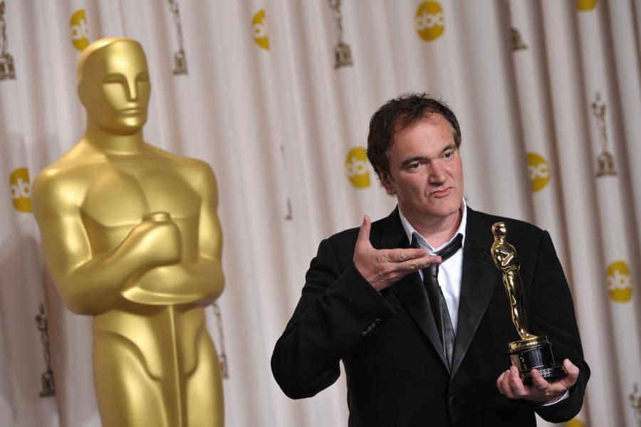 Quentin Tarantino nagrodzony Oscarem