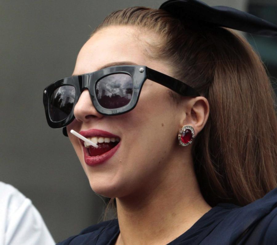 Lady Gaga na wózku z 24-karatowego złota?