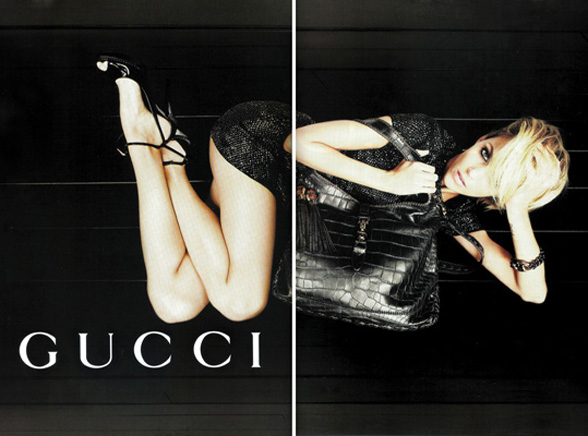 Anja Rubik reklamuje Gucciego