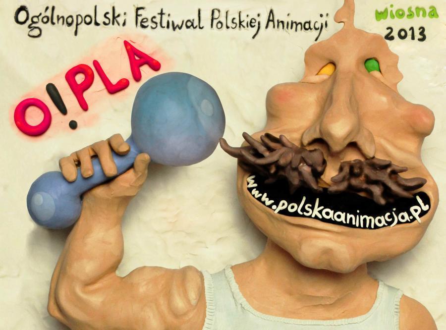 O!PLA (autor plakatu Monika Kuczyniecka)
