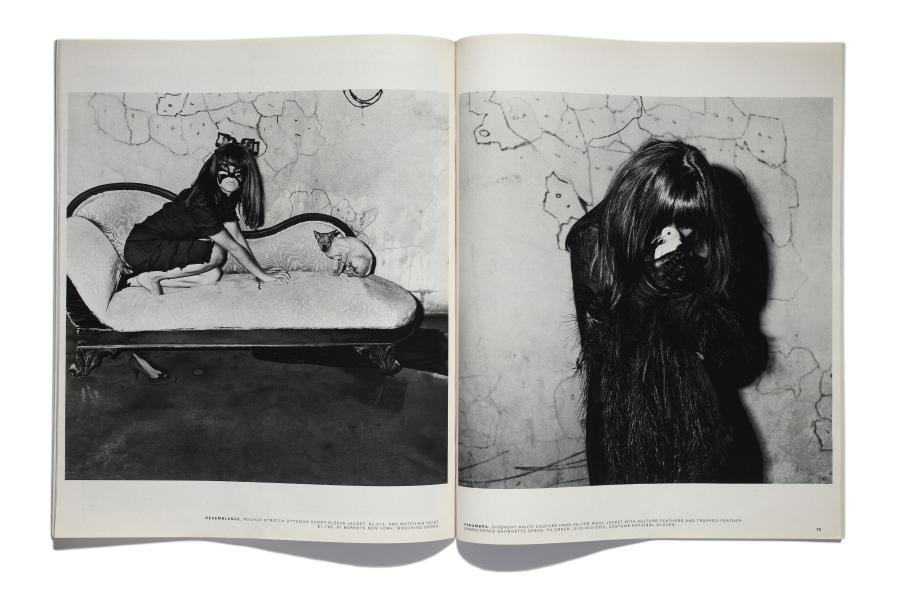 The New York Times Magazine Tearsheets Roger Ballen, Resemblance