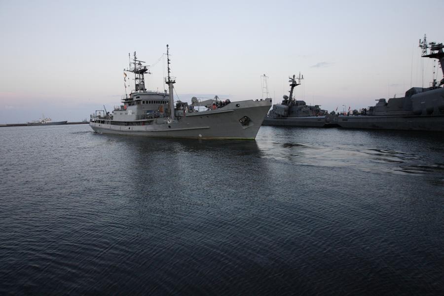 Okręt ratowniczy ORP \