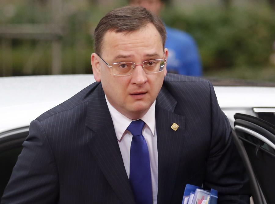 Premier Czech Peter Neczas
