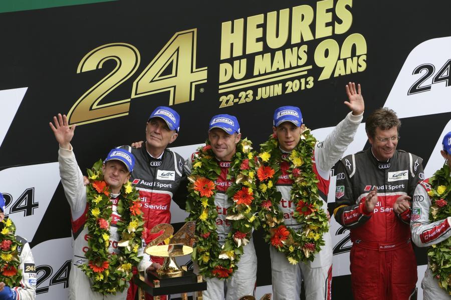 Zwycięstwo Audi w Le Mans