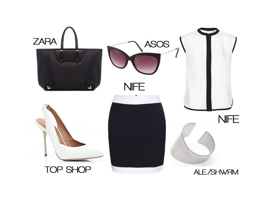Modne stylizacje do pracy na lato 2013
