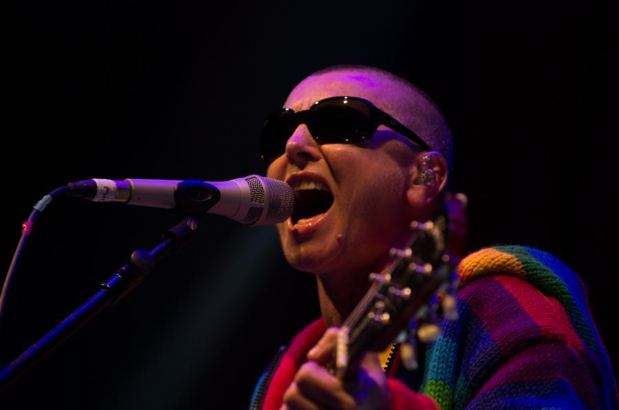 Sinéad O\'Connor na festiwalu w Glastonbury