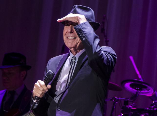 Leonard Cohen zaśpiewał w Łodzi