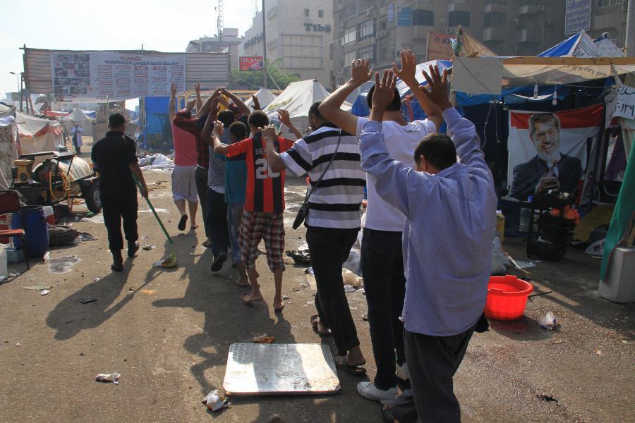 Starcia w Egipcie