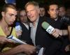 Harrison Ford podczas spotkania z fanami i dziennikarzami