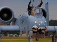 Amerykańskie A-10 Thunderbolt nad polskim niebem