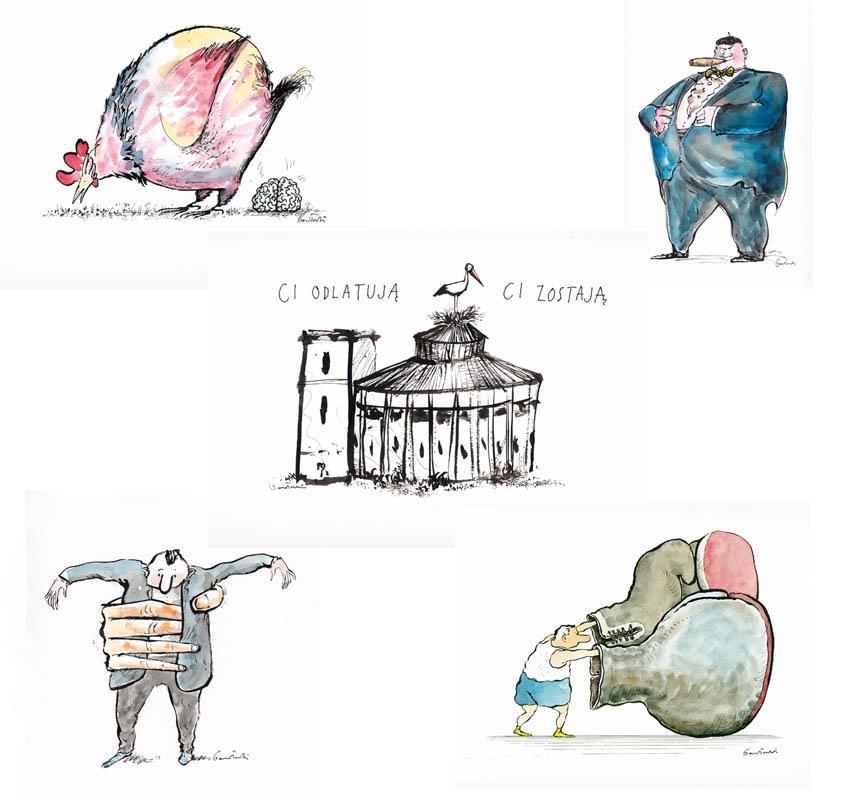 Rysunek Jacek Gawłowski