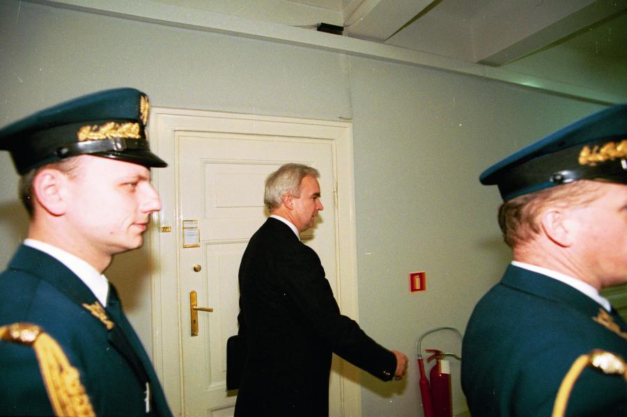 Marian Zacharski jako oficer UOP