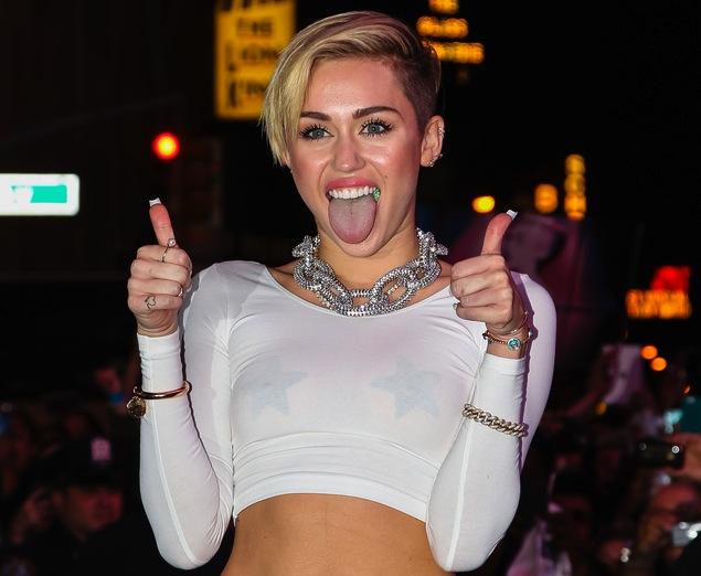 Miley Cyrus nie słucha starych Żydów