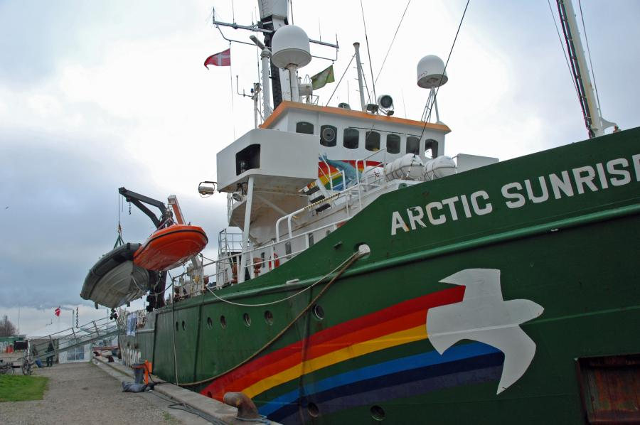 Statek Greenpeace - Arctic Sunrise