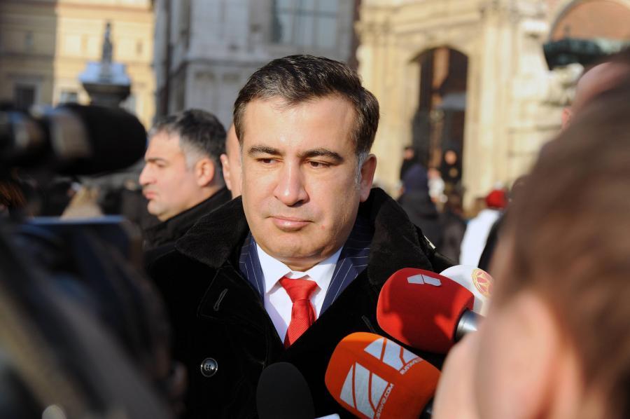 Prezydent Gruzji Micheil Saakaszwili