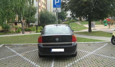 """Białystok. Parkowanie w stylu """"jak pies ogrodnika""""?"""