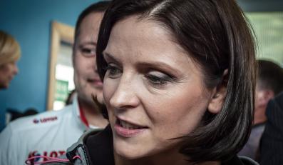 Minister sportu i turystyki Joanna Mucha