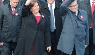 Anna Komorowska; Bronisław Komorowski