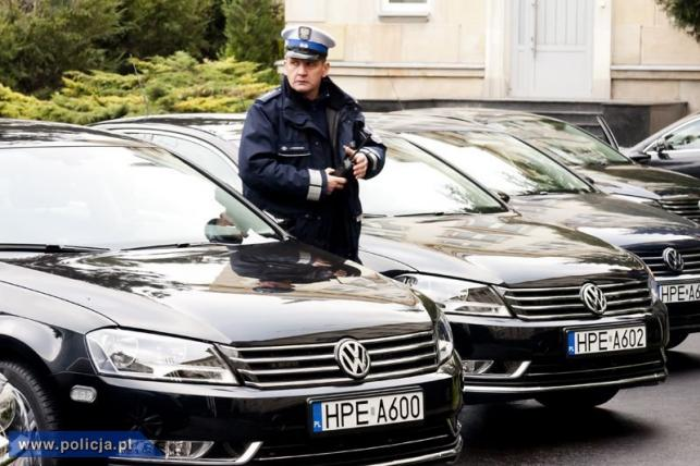 Nowe passaty dla policji