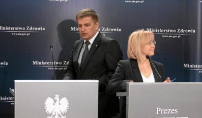 Bartosz Arłukowicz i Agnieszka Pachciarz
