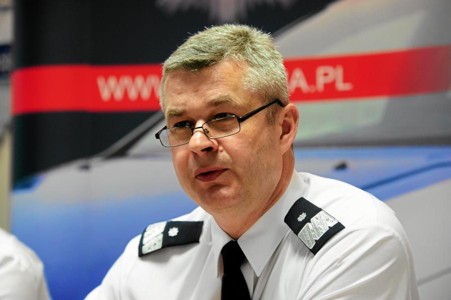 Komendant Główny Policji Marek Działoszyński