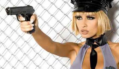 Seksowna policjantka to ty