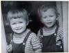 Lech i Jarosław - jeszcze kilkuletni chłopcy
