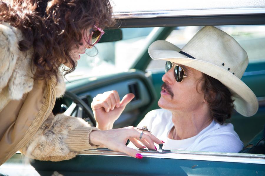 """Jared Leto i Matthew McConaughey w filmie """"Witaj w klubie"""""""
