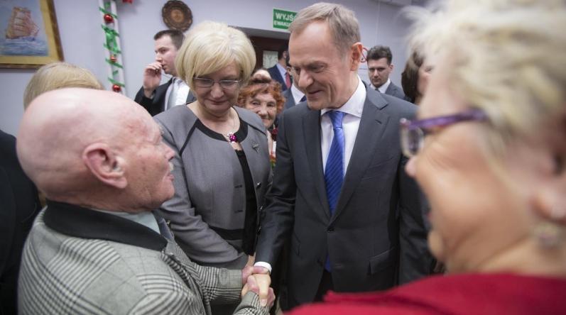 Premier Donald Tusk z wizytą w Czestochowie