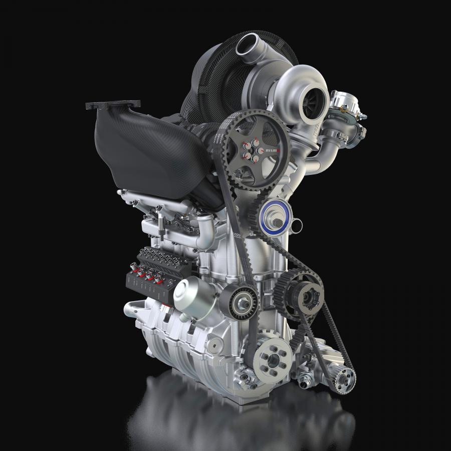 Nowy silnik Nissana - trzy cylindry i 400 KM!