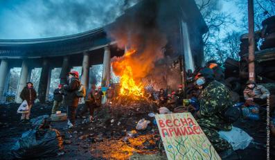 Barykada w Kijowie