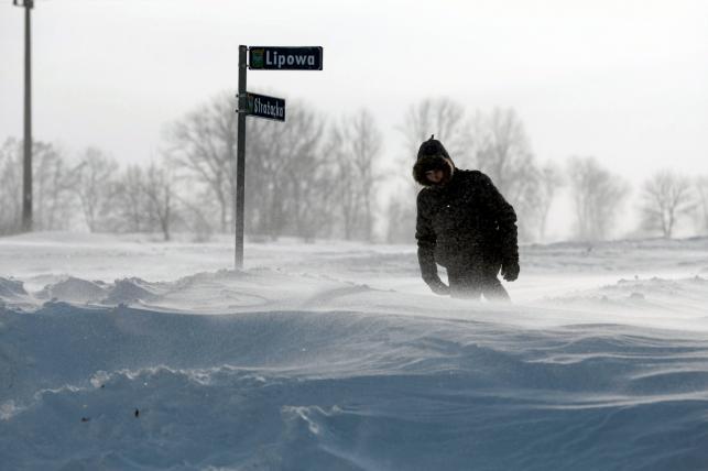Najgorzej jest na Lubelszczyźnie. Prawie pół setki miejscowości zima odcięła od świata