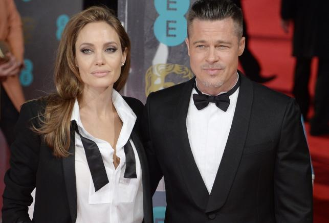 Angelina Jolie i Brad Pitt na gali BAFTA 2014