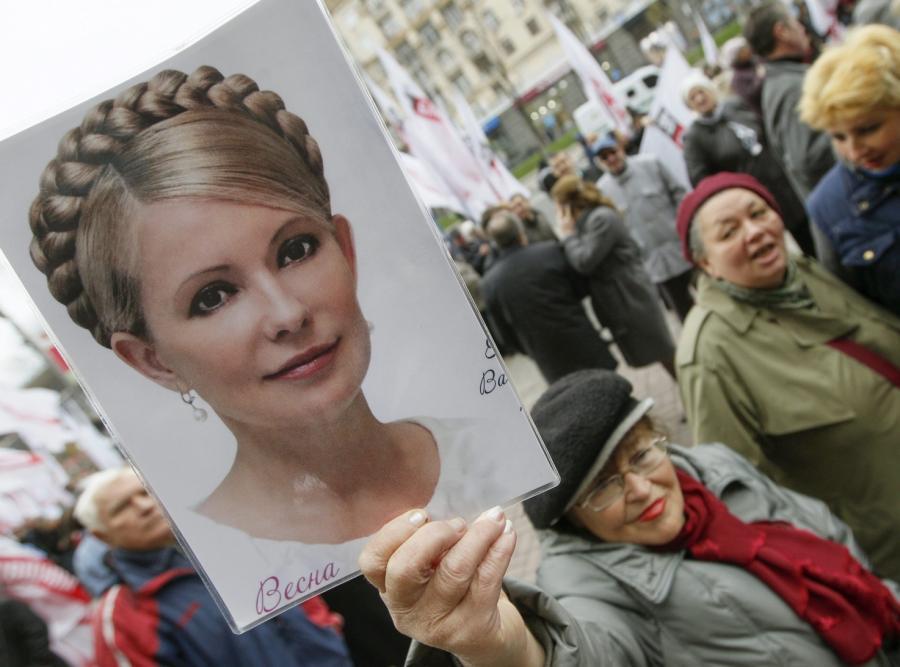 Julia Tymoszenko wychodzi z więzienia