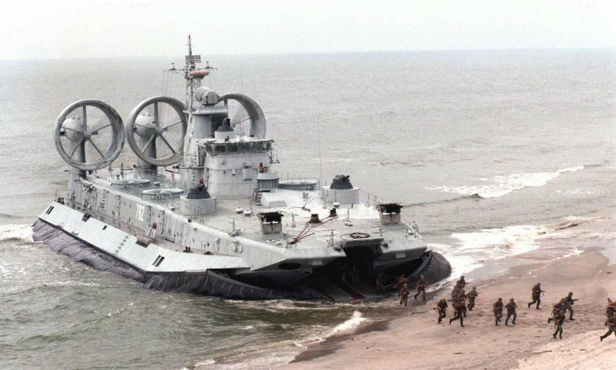 Ćwiczenia Floty Bałtyckiej