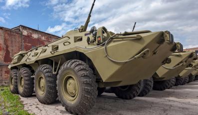 Rosja rosyjski transporter opancerzony BTR-80
