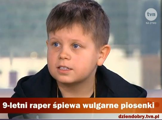 9-letni raper Xavier Witkowski