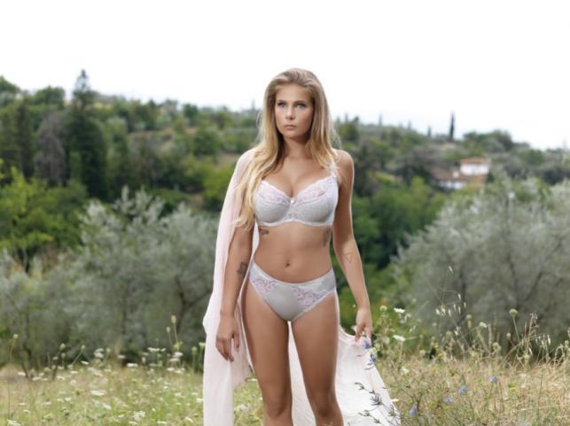 Marta Wierzbicka w kampanii reklamowej bielizny Dalia na sezon wiosna/lato 2014
