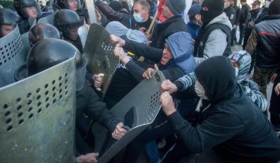 Zamieszki w Doniecku