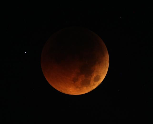 Krwawe zaćmienie Księżyca
