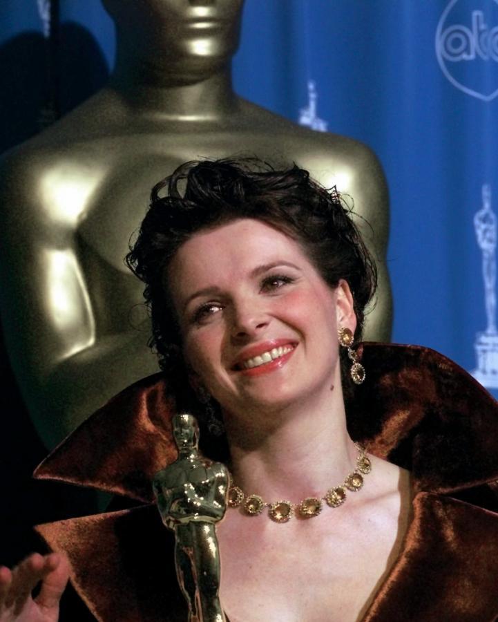 Juliette Binoche nagrodzona Oscarem za rolę w filmie \
