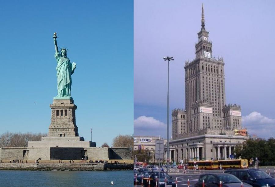 Statua wolności vs PKiN