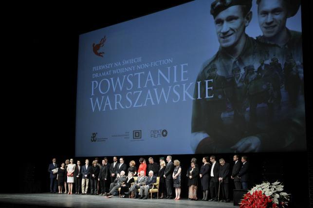 """Uroczysta premiera filmu """"Powstanie Warszawskie"""""""