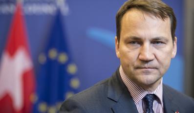 Szef polskiego MSZ Radosław Sikorski
