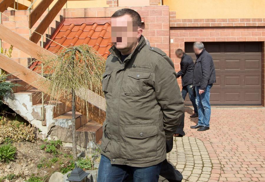 Dariusz P., podejrzany o podpalenie w Jastrzębiu-Zdroju