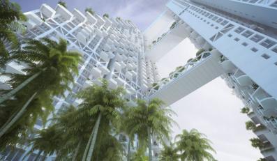 Wieżowiec w Singapurze