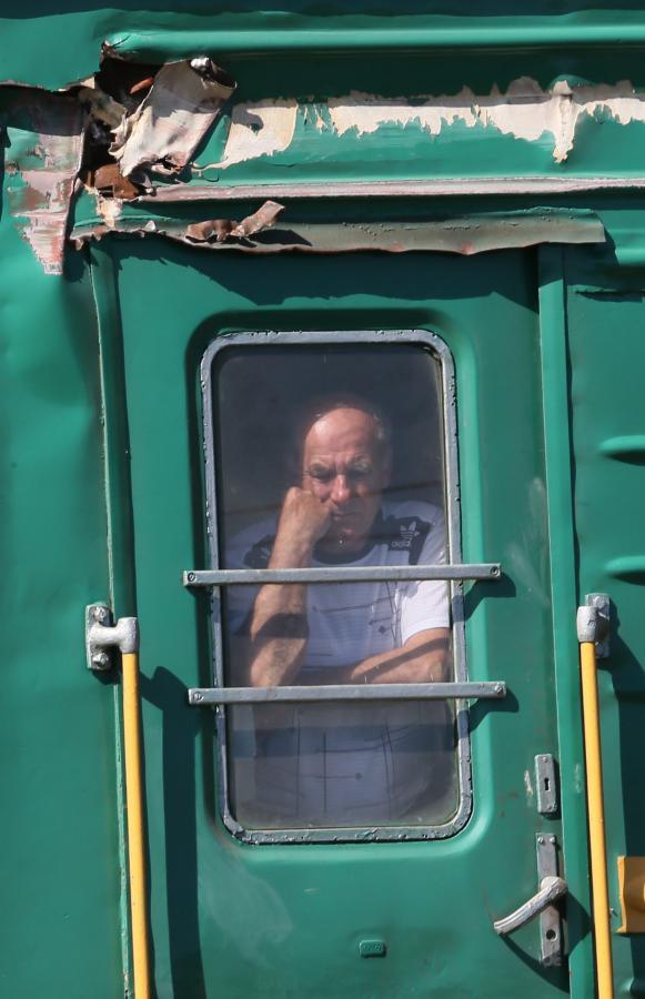 Pociąg towarowy zderzył się z pasażerskim niedaleko Moskwy
