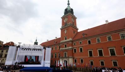Uroczystości w Warszawie z okazji 25-lecia wolności