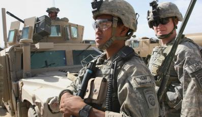 Żołnierze międzynarodowych sił ISAF